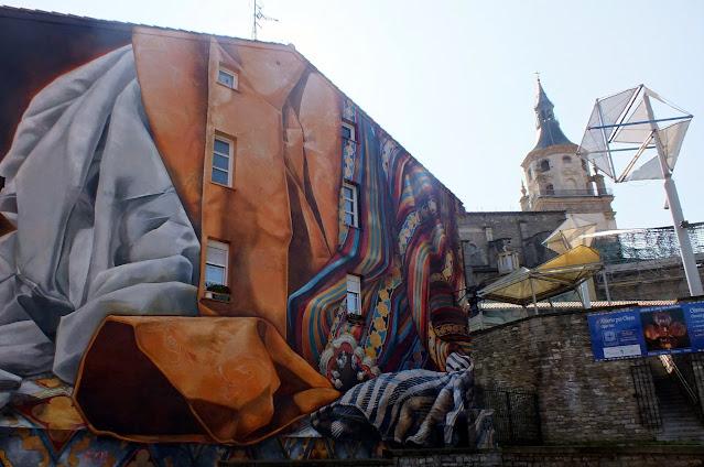 ruta de los murales de Vitoria Gasteiz