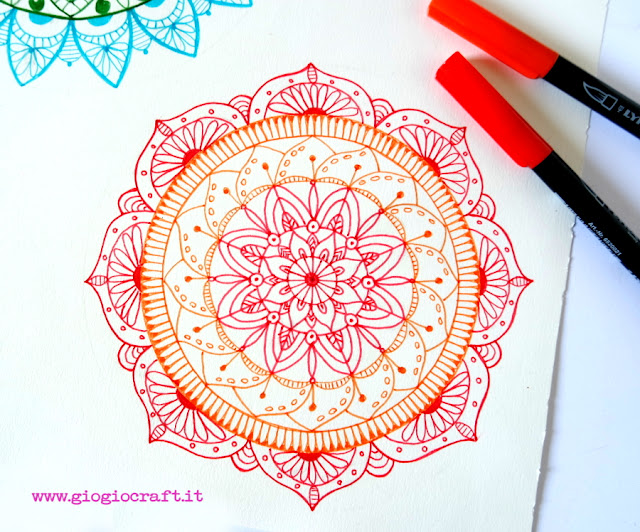 VideoTutorial: How to draw Mandala on Bullet Journal