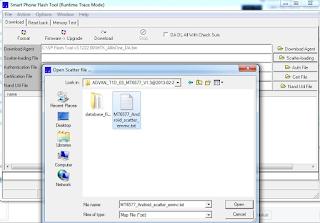 Cara Flash Firmware Advan Vandroid S4 via PC