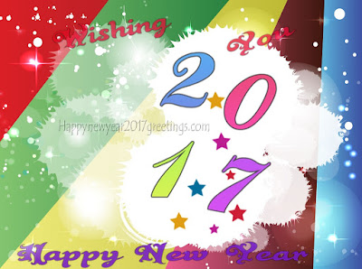 Happy new Year 2017 Beautiful Greetings
