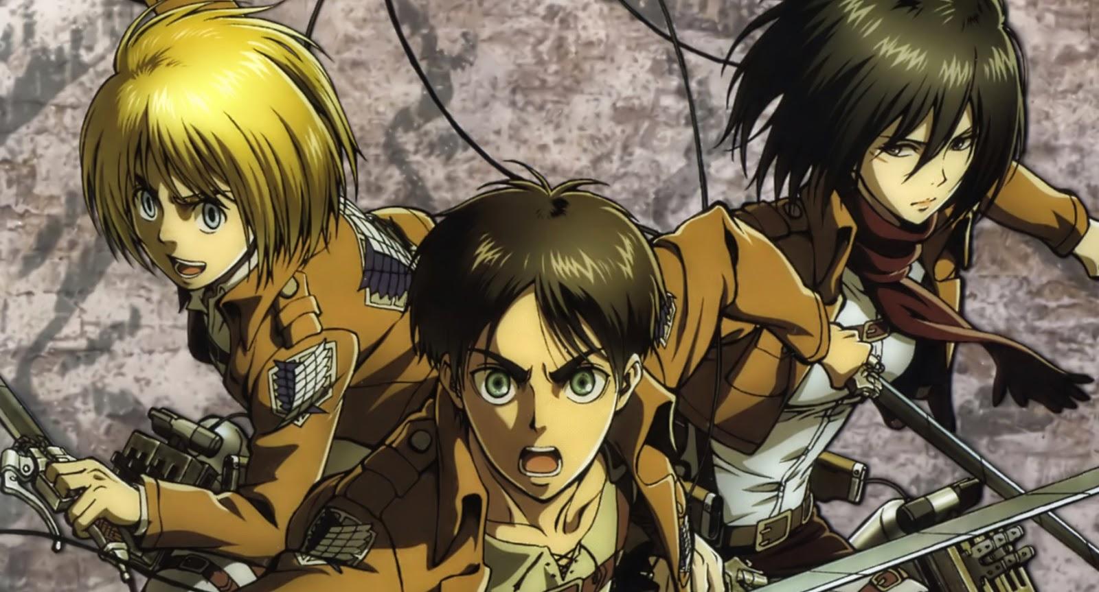 Manga Suki: L'attaque des titans
