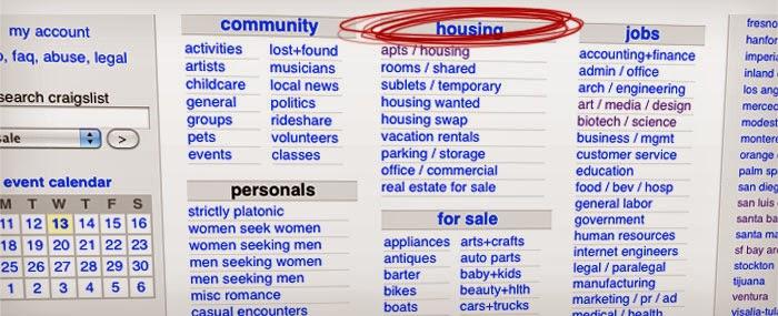 Beast Housing : Craigslist making you sad? Tips for
