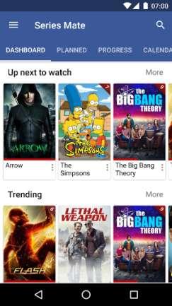 Tutte le tue Serie TV preferite in un'unica applicazione Android dedicata.