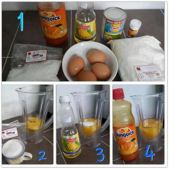 resepi kek oren sanquick sbs aneka resepi masakan Resepi Kek Oren Tanpa Mentega Enak dan Mudah