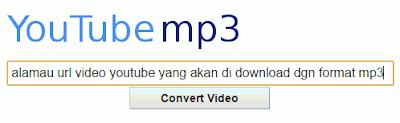 Cara Mudah Download Video Youtube Format MP3