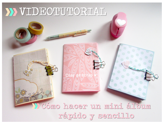Video tutorial scrap para principiantes paso a paso