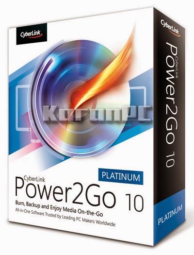 CyberLink Power2Go Platinum 10.0.1210 + Patch