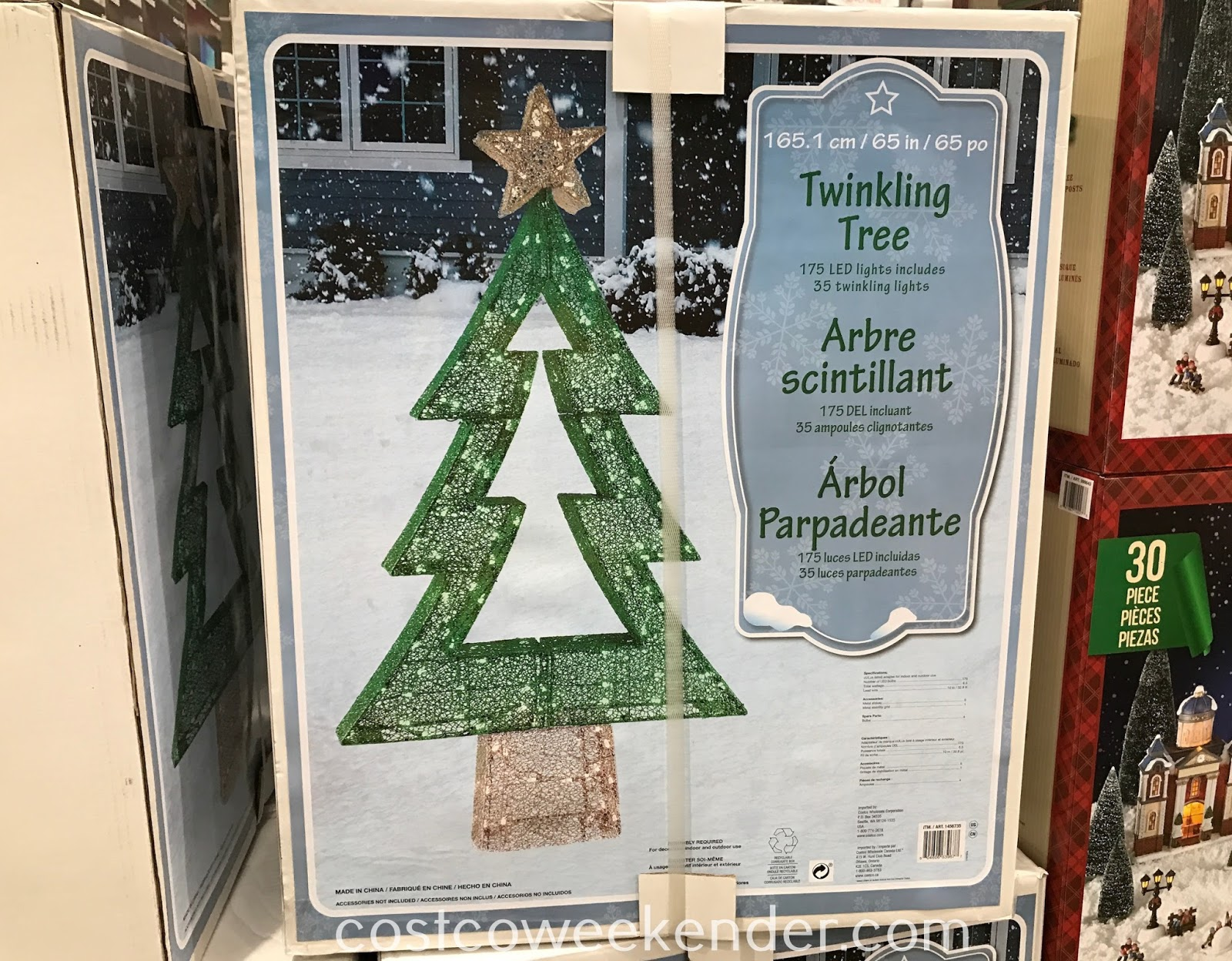 Decorate your home for the holidays with a Twinkling Tree