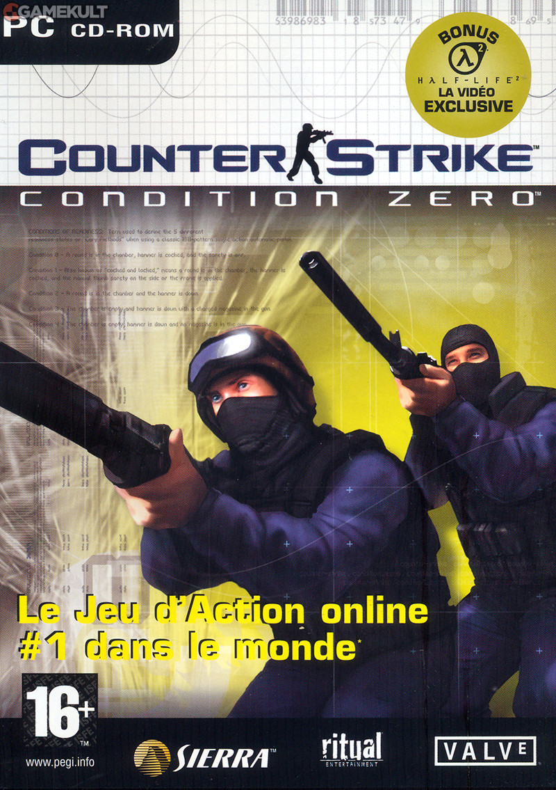 cstrik - Counter Strike Condition Zero [2CDs] Pc