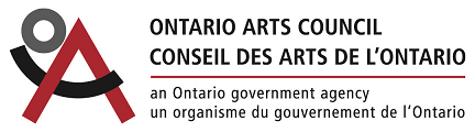 Judy Martin thanks the Ontario Arts Council for their support
