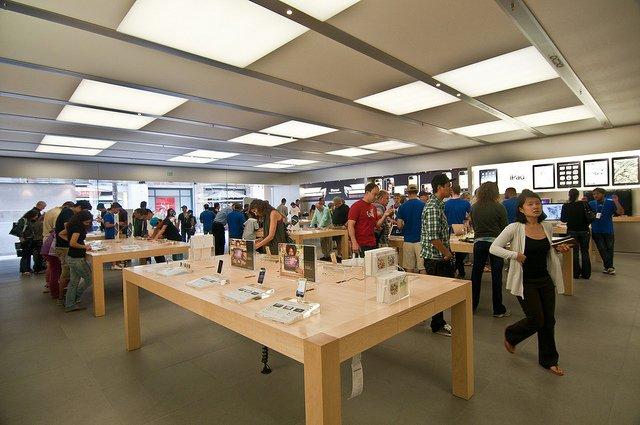 Loja da Apple em San Francisco e na Califórnia