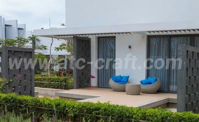 High-class resorts need high-grade patio furniture