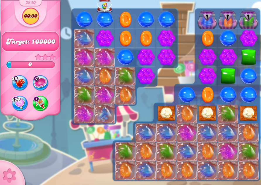Candy Crush Saga level 2940