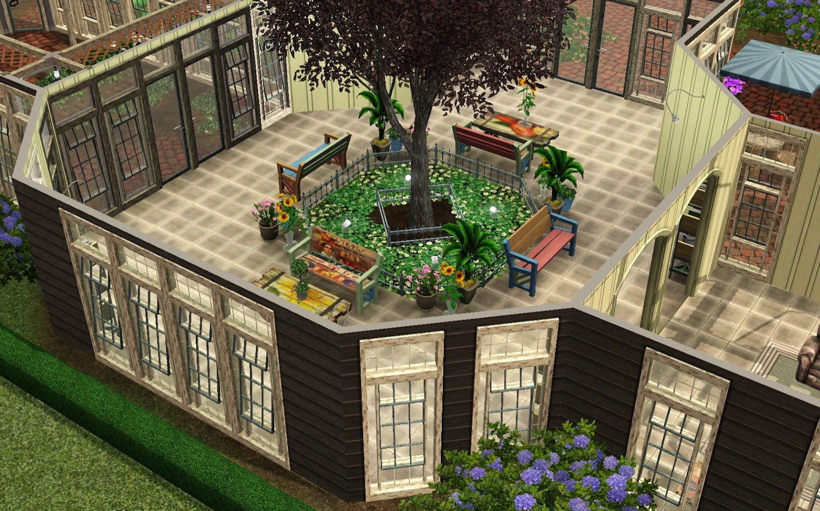 AznSenseis Sims 3 Store Blog Stones Throw Greenhouse