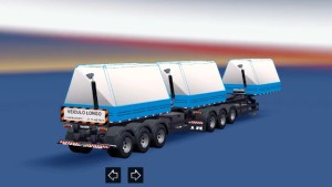 Brazilian Double Articulated Trailers Pack