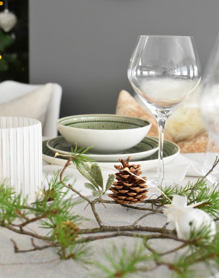 Mesas de Navidad en la cocina