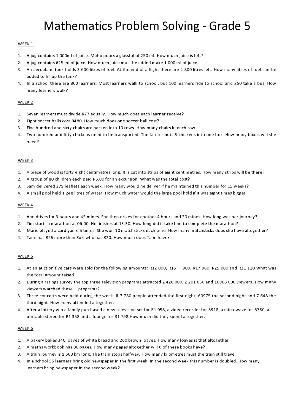 medium resolution of Grade 6 Math Worksheets and Problems: Logical Reasoning   Edugain Global