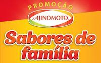 Promoção Ajinomoto Sabores de Família promocaoajinomoto.com.br