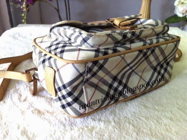 I Want Vintage Vintage Designer Handbags Burberry Blue