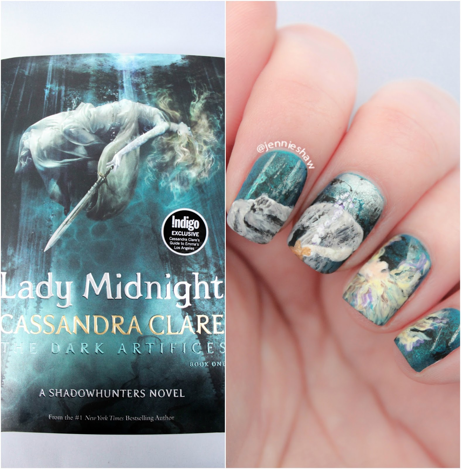 jennie's nails and tales: book review (with cover mani!): lady ...
