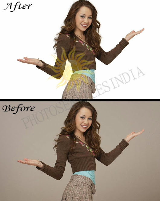 Hair Masking White Background Services