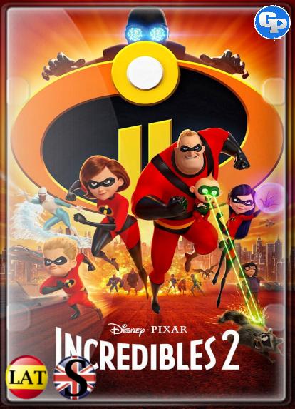 Los Increíbles 2 (2018) HD 1080P LATINO/INGLES