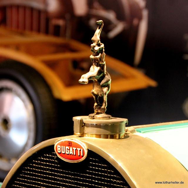 Automobilmuseum in Mühlhausen Bugatti Detail