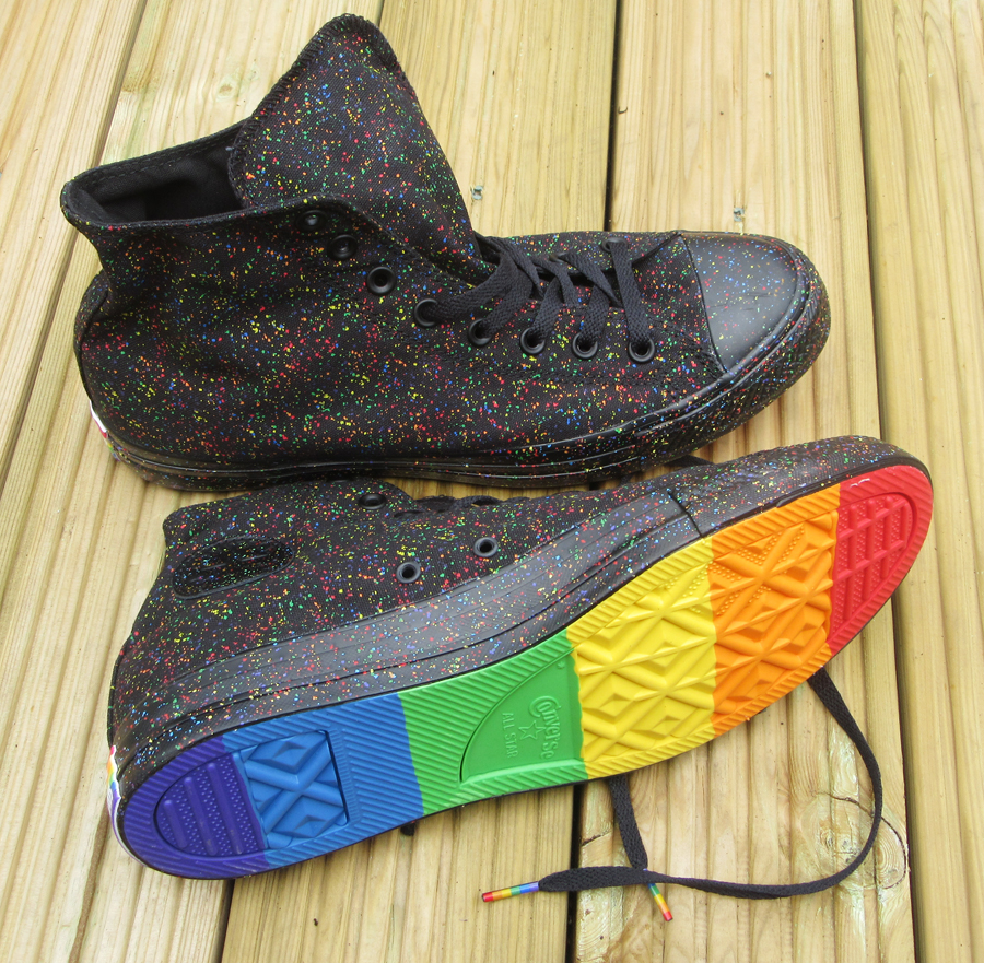 Kitty Rambles A Lot  The Converse Pride Sneakers 25d0977ec