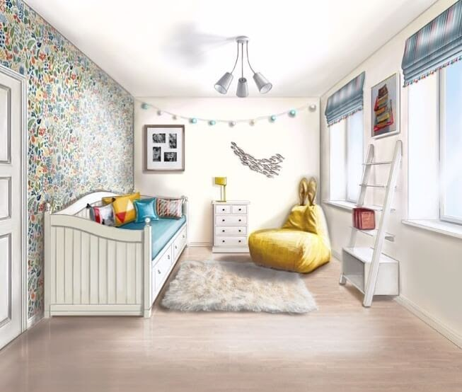 04-Nursery-Room-Julia-Timireeva-Юлия-Тимиреева-Interior-Design-Drawings-that-Help-Visualise-www-designstack-co
