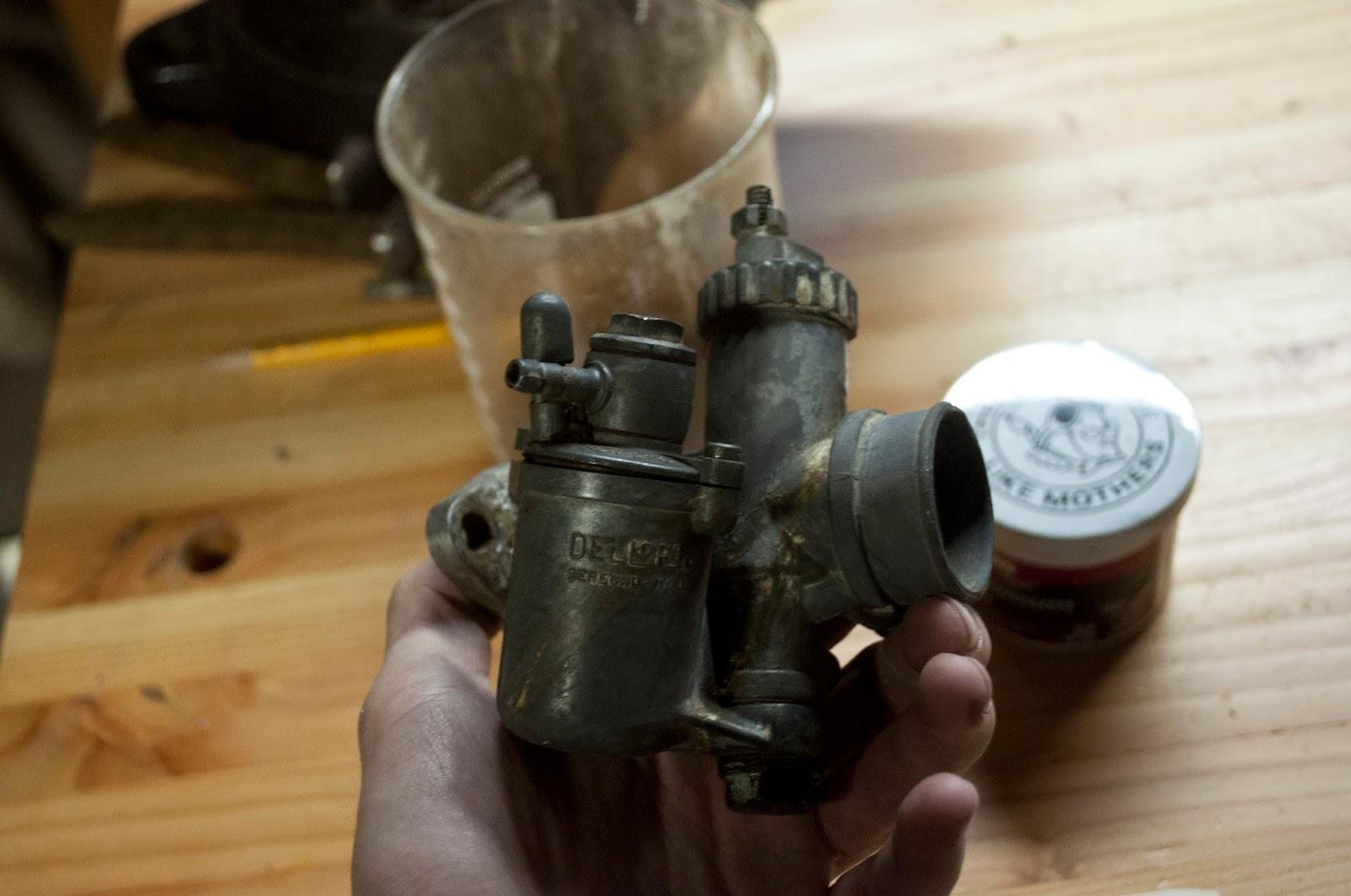 Dellorto Ducati Carburetor Rebuild   MAINSPRING
