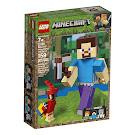 Minecraft Steve With Parrot BigFig Set