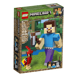 Minecraft Steve With Parrot Lego Set