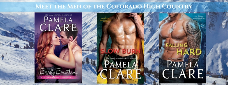 7931e51f387a7 At Home with Pamela Clare  FALLING HARD is out! CONTEST