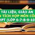 Kho tài liệu, giáo án liên môn tích môn Công Nghệ lớp 6-7-8-9-10-11-12 cấp THCS-THPT