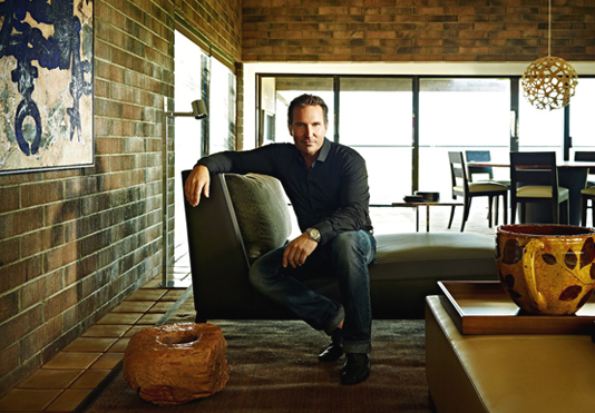Средиземноморский стиль в интерьере сельского дома в пустыне Сонора   David+Michael+Miller+Associates+2