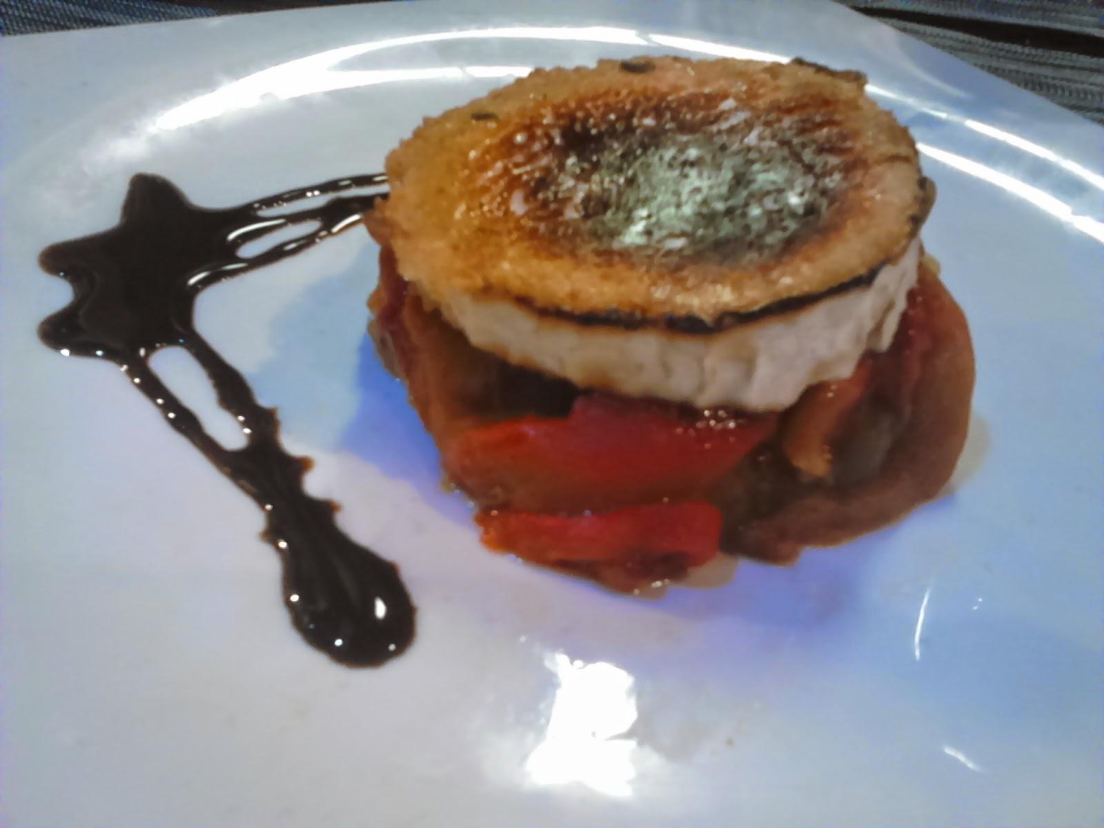 paprika en la cocina timbal de escalivada con champi ones