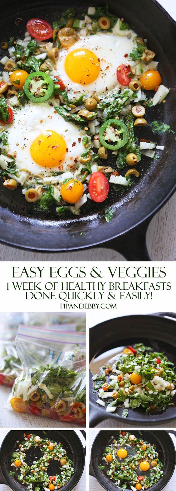 Easy Eggs&veggies