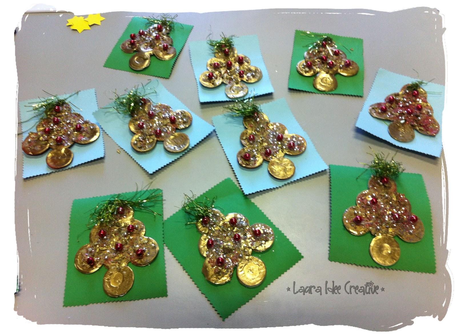 Favorito Laura Idee Creative: I lavori di Natale dei bambini della scuola  OV99