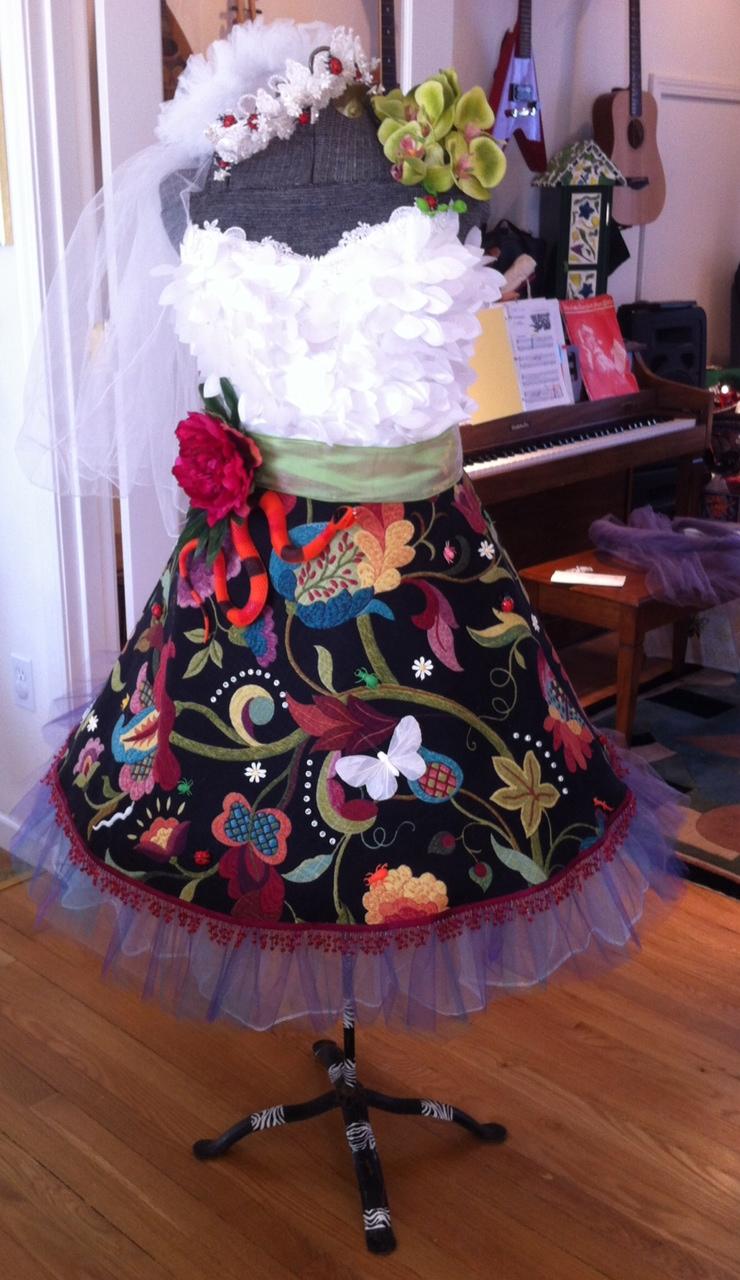 Tam Johannes Design: Upcycled Wedding Dress