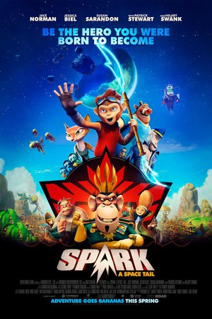 Poster Spark: A Space Tail 2016