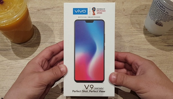 The Vivo V9 Unboxing Philippines