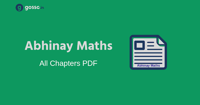 Download Abhinay Math Chapters PDF