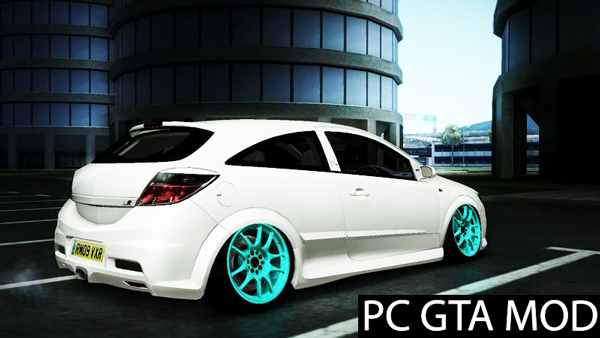 Free Download  Vauxhall Astra VXR Tuned Mod for GTA San Andreas.