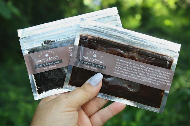 SimplyScrub Coffee Scrub and Chocolate Scrub