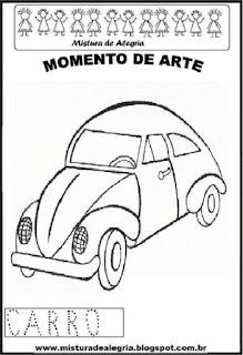 Projeto Pátria, desenho de carrinho