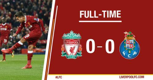 Liverpool vs FC Porto 0-0 Highlights Liga Champions