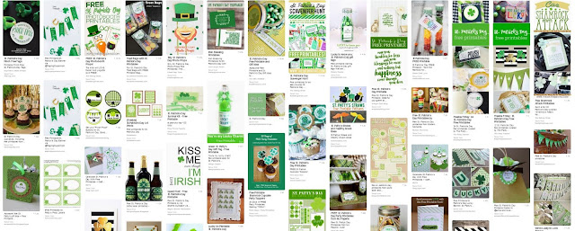 free St. Patrick's day games activities crafts ideas for kids