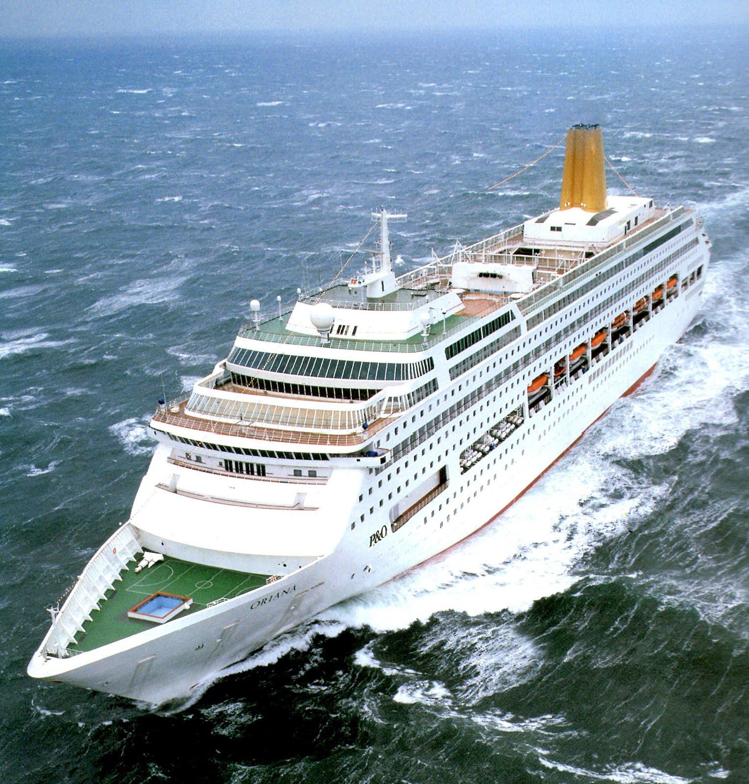 ORIANA Of 1995: ORIANA-A Ship That Shaped The Future