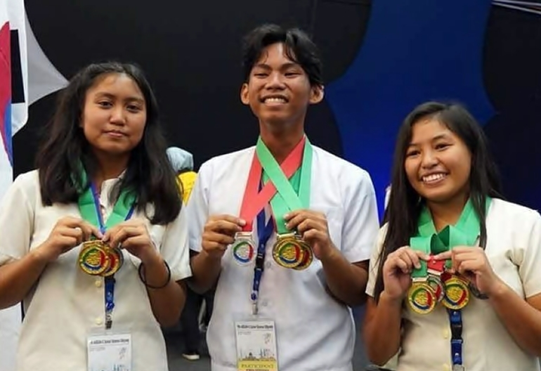 Philippine Science HS - SOX Campus studes over-all champion in ASEAN+3 Junior Science Odyssey 2018