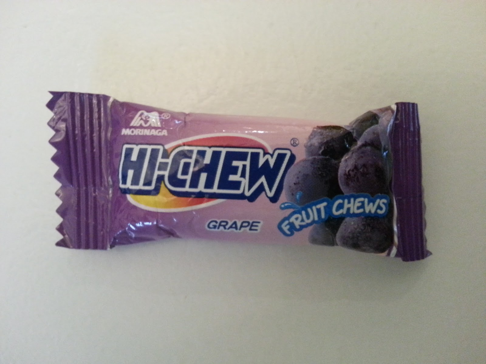 Walking The Candy Aisle: Hi-Chew review